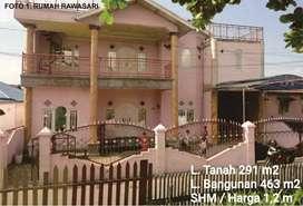 Jual Rumah atau Mes Mewah Jafri zam zam Komplek Rawasari Teluk Dalam