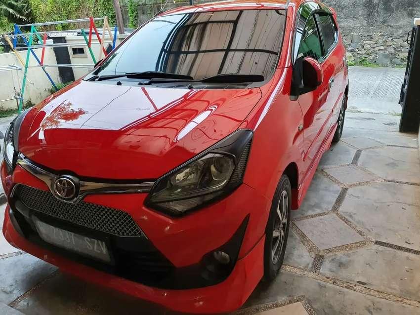 Dijual Toyota Agya G upgrade TRD AT 2018 pajak panjang