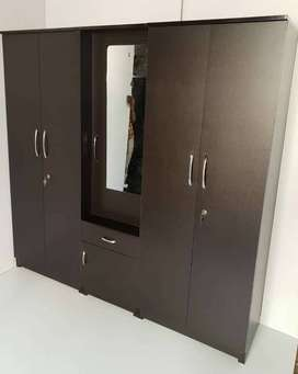 wardrobe 5 door in manufacture price