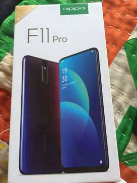Oppo f11 Pro 6 Ram 128 GB internal memory 6 month