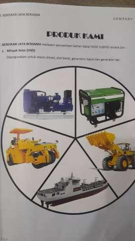 Partnership of diesel oil  Marketing at East Java