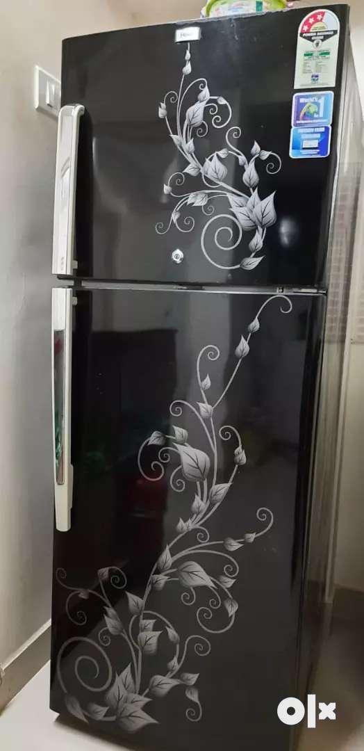 Haier double door refrigerator - 6 year old 0