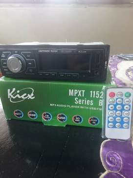 Head unit KICX bloethoot,usb,aux,radio fm