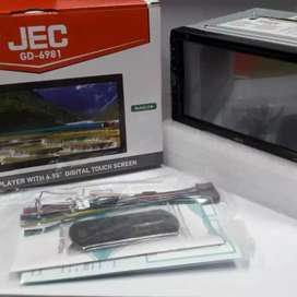 "Head unit double din mirror link android 7"" plus pasang di Pondok Aren"