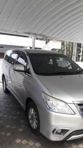 Toyota Innova 2.0 VX 7 STR BS-IV, 2012, Diesel