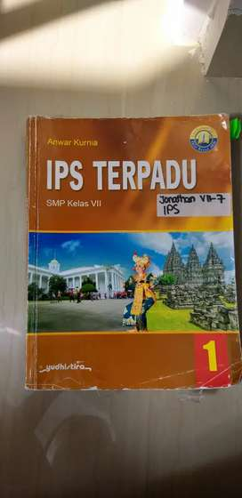 Buku Ips Terpadu kls 7 penerbit Yudhistira