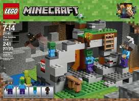 LEGO Minecraft The Zombie Cave 21141 Building Kit with Popular.