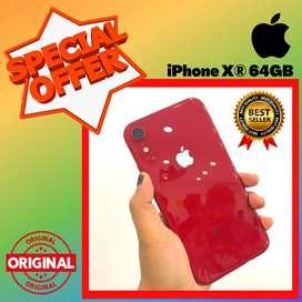 BISA TUKAR - TAMBAH !! SECOND IPHONE XR 64 GB - EKS INTER