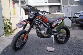 Kawasaki KLX 150 L dan 1set velg + ban tahu