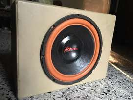 Subwoofer legacy + power coustic