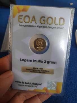 Emas eoa gold, logam mulia