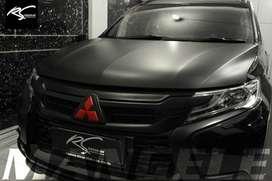 kualitas terbaik wrapping stiker mobil bandung sticker hitam matte PRO