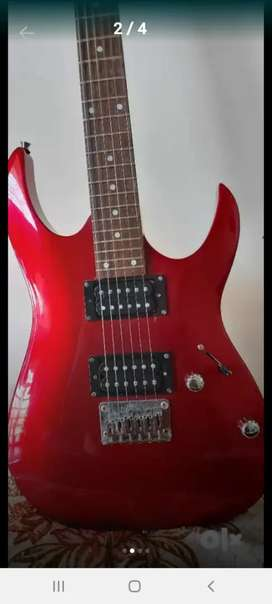 Cherry Red Ibanez Electric Guitar Gio Series..