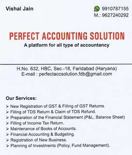 Accounting Services for Part time basis (We are service provider)