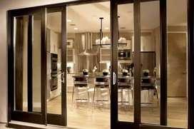 Kusen & pintu aluminium model geser lebih awet & tahan lama