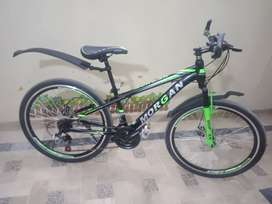 Imported Morgan 26 inch full size (Original) cycle (black and Green)