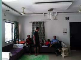 2 BHK furnished flat on rent Rs- 14,000/-