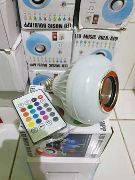 Speaker bluetooth lampu nyala berwarna-warni suara besar