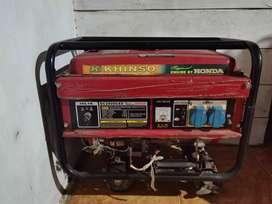 Genset/generator Honda asli