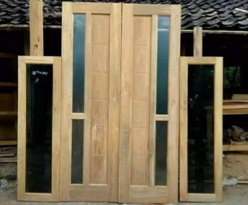 Promo pintu,kusen,jendela,dan mebel lainnya. 0