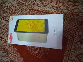 Brand new sealed box Redmi 4 black 2/16gb with fingerprint scanner