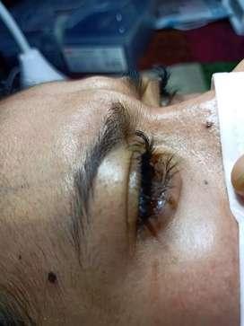 Eyelash extection bulu super lembut