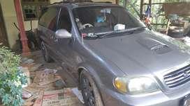 Full Upgrade Kia Carnival Diesel 2003 Matic Pajak Baru