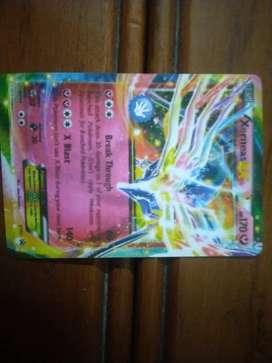 Xernes ex Pokemon card