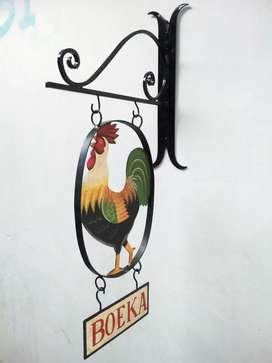 Vintage Sign Boeka Toetoep Jadoel Jadul