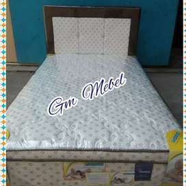 GM MEBEL Slim Bed Spring Bed Single 2 Lapis