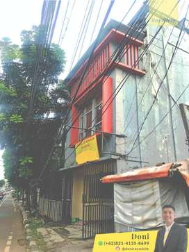 Dijual Ruko 3½ lantai Strategis Pinggir jalan raya, dekat JMC