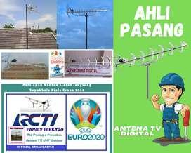 Paket Jasa Pasang Baru Antena Tv Analog Antenna Zaman Now