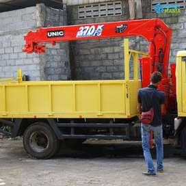 Sewa Truck Crane 3T-5T Proyek Bulanan Jogja Samigaluh dan Sekitarnya