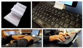 Keyboard bluetooth + holder hp