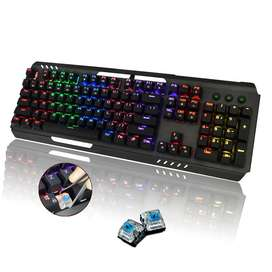 RGB MECHANICAL KEYBOARD WITH RAINBOW LIGHTS