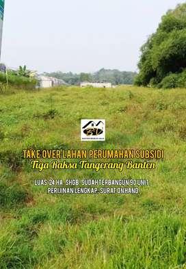 Jual Tanah Murah Perijinan Lengkap di Tigaraksa Tangerang Banten