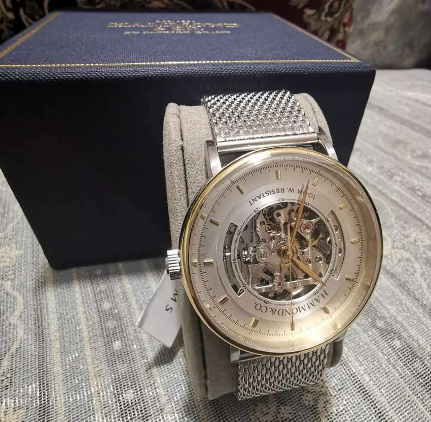 Hammond & Co. By Patrick Grant Skeleton Watch 0