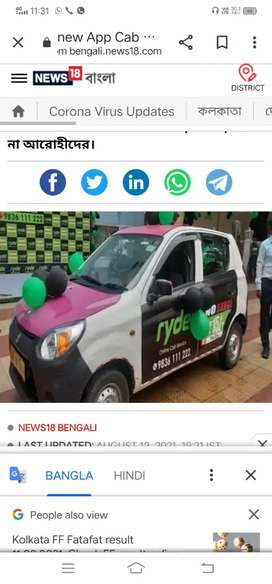 Need experience cab driver with running id at ola uber redbus gojocab