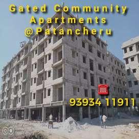 Gated community apartment flats