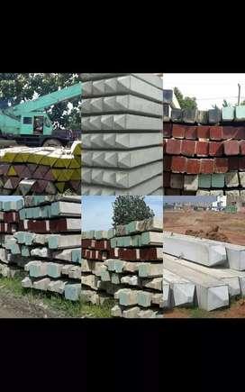 Tiang Pancang Beton K500, Segitiga, Segiempat, Harga Pabrik