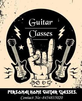 Personal Home Guitar Classes.