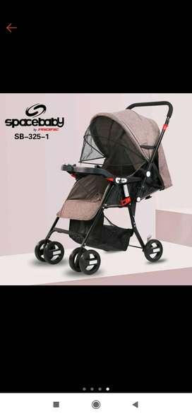 Dijual stroller SpaceBaby SB 325-1
