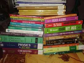 IIT JEE MAINS AND ADVANCED FULL SET OF BOOKS WITH RESONANCE MATERIAL