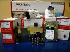 Pusat kamera CCTV hilook hikvision 2mp full hd area cinere