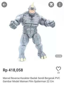 Action Figur Rhino Edisi Marvel Original