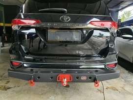 JA Auto Towing Bar Rhino Lubang New Model Fortuner