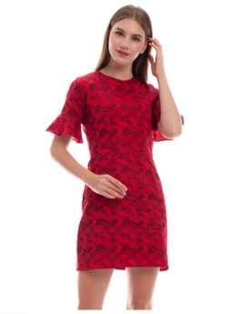 Bellevue Red Dress - Merah, S