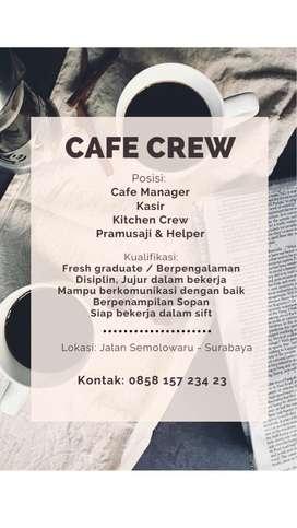 Recruiting Cafe Crews