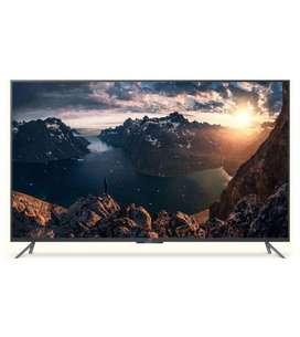 "Cornea 55"" 4K LED TV with one-year warranty premium quality"