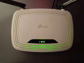 TP-LINK DOUBLE ANTENNA ROUTER upto 300mbps